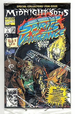 Spirits of Vengeance Vol 1 No 1 Aug 1992 (NM) Marvel, Poly Bagged with poster