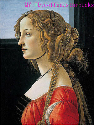 """Art Repro Oil painting:""""Salome Guido Reni Portrait at canvas"""" 24x36 Inch #002"""