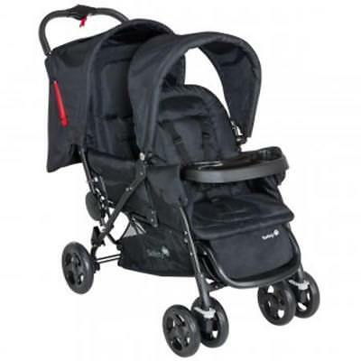 Safety 1st duodeal All Inclusive Double Pram Full Black