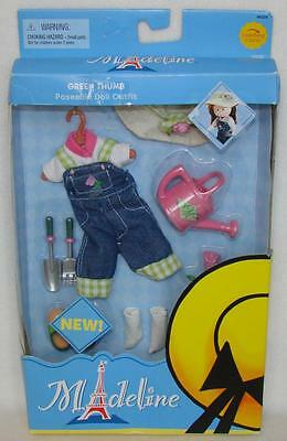 """Madeline 8"""" Doll GREEN THUMB Outfit Clothing Set NEW!"""
