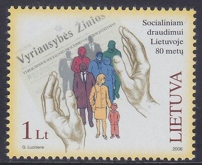 Lithuania 2006 - 80° Dell'assistenza Sociale - L. 1 - Mnh