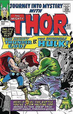 TRUE BELIEVERS KIRBY 100TH THOR VS HULK #1 PREORDER 1st PRINT BAGGED AND BOARDED