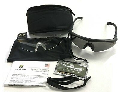 US Revision Sawfly Tactical Army Sonnenbrille Brille Schutzbrille black Made USA