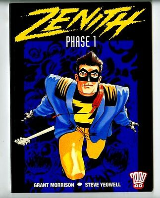 Zenith Phase 1 Pulped Banned Edition Grant Morrison NM 1st Print 2000ad