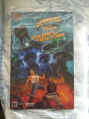 Loot Crate Big Trouble in Little China/Escape from New York 1 sealed