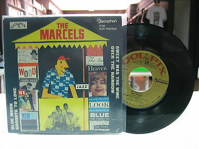 "The Marcels 7"" Ep Spanish Blue Moon + 3. 1961 Doo Wop"