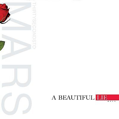 THIRTY 30 SECONDS TO MARS A Beautiful Lie 180gm Vinyl LP 2016 NEW & SEALED