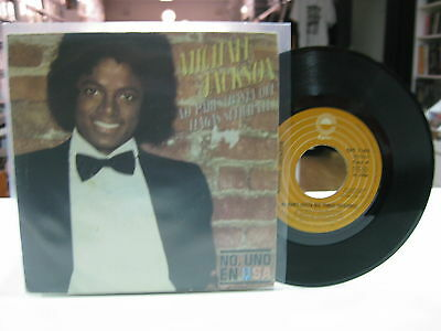 "Michael Jackson 7"" Single Spanish Don't Stop 'till You Get Enough 1979"