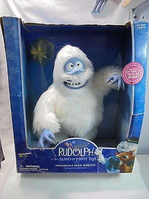 """Playing Mantis 16"""" Abominable Snowman Monster Rudolph The Island Of Misfit Toys"""