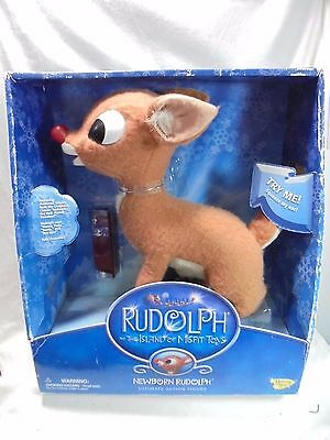 """Memory Lane 13"""" Newborn Rudolph -  Rudolph and The Island Of Misfit Toys"""