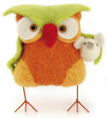 felt creative set Owl Craft kit complete set for child's play Frisk by animals