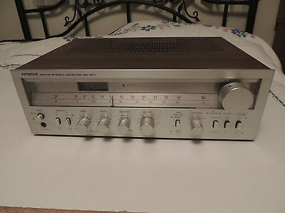 Vintage Hitachi SR-304 AM-FM Stereo Receiver Made in Japan Tested & Working