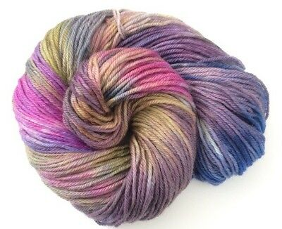 Hand Dyed DK Yarn Soft Double Knit The Tempest 100% Wool