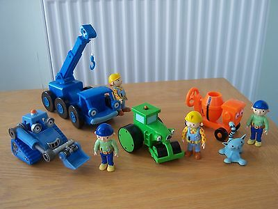 Rare Bob The Builder Scratch + Lofty Roley Dizzy & Figs (3 Lots For 1 Post Cost)