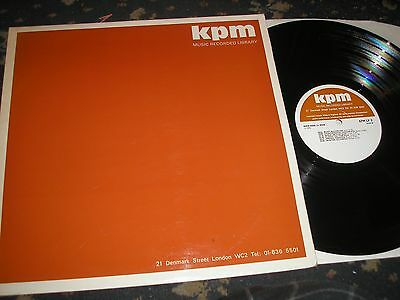 Kpm Music Recorded Library Instrumental Music Kpm Lp 9 1970 Near Mint