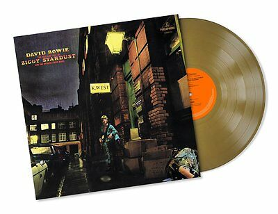 David Bowie - The Rise And Fall Off Ziggy..- Lp Gold Vinyl Nuovo Sigillato