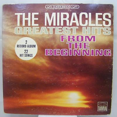 The Miracles - Greatest Hits From The Beginning - 2xLP - Tamla TS-2254 Gatefold