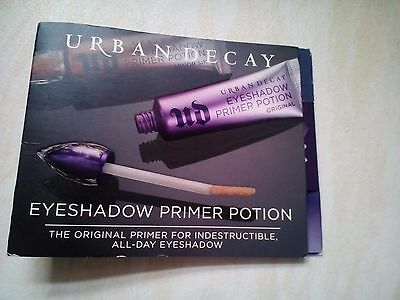 Urban Decay Eyeshadow Primer Potion Shade Original Sample Tube 2ml New All Day