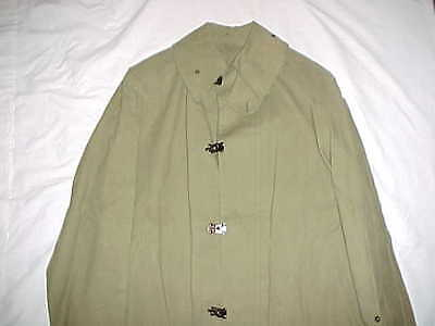 "ORIGINAL, RARE & NR. MINT Condition WWI ""M1918 Raincoat, Foot"" Doughboy Raincoat"