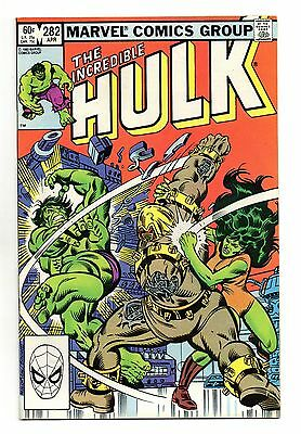 Incredible Hulk Vol 1 No 282 Apr 1983 (VFN) Marvel, Modern Age