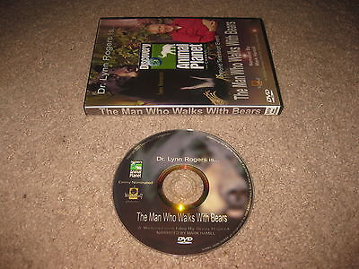 Animal Planet - Dr Lynn Rogers - The Man Who Walks With Bears - Discovery DVD