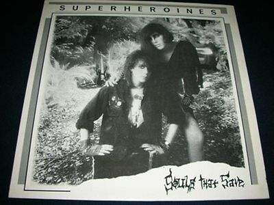 SUPERHEROINES - Souls that save - LP Deathrock