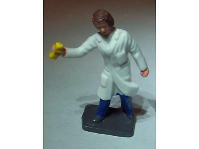 Vintage Plastic Painted Figure of a Garage Attendant as seen in Corgi 1505
