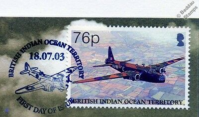 RAF Vickers WELLINGTON Bomber Aircraft Stamp FDC (100 Years of Powered Flight)