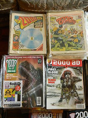 2000AD ft JUDGE DREDD - NEAR COMPLETE COLLECTION **REDUCED SALE** 1977 to 2016