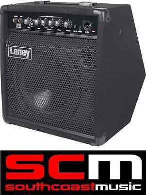 Laney Rb2 Richter Bass Guitar Amp 30 Watt Also Electronic Drum Kit Amplifier