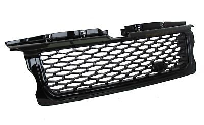 Gloss black 2010 Autobiography style front grille for Range Rover SPORT 05-09