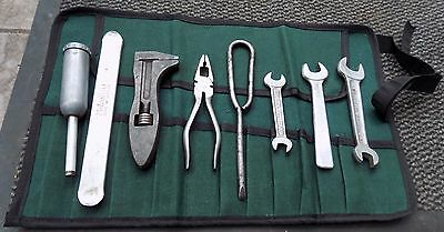 Land Rover Series 1,2 Part Tool Kit Inc Adj Wrench,pliers,screwdriver,spanners