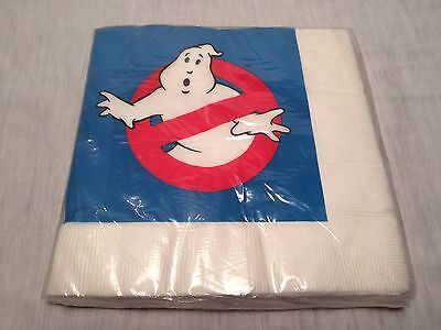 1984 The Real Ghostbusters Party Napkins -  Original Package