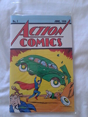 Action Comics 1 reprint, 1st App of Superman, Loot Crate Lootcrate sealed
