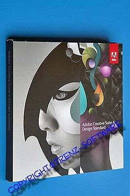 Adobe Creative Suite 6 Design Standard englisch Windows Vollversion DVD-MwSt CS6