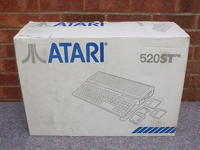 Atari 520 ST FM Computer ~ Boxed ~ Tested / Working Fine ~ Refurbished