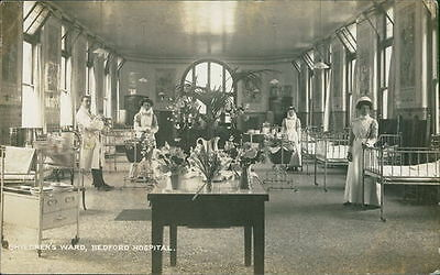 BEDFORD Hospital Postcard BEDFORDSHIRE Anon