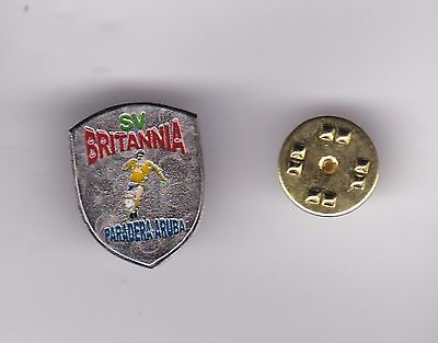 SV Britannia ( Aruba ) - lapel badge butterfly fitting