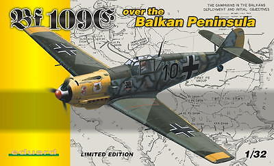 EDUARD 1156 Bf 109E over the BALKAN PENINSULA in 1:32  LIMITED EDITION!!