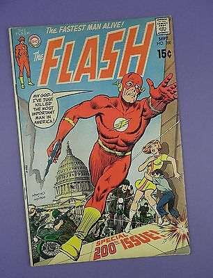 The Flash #200 - Special 200th Edition - Marvel Comic September 1970