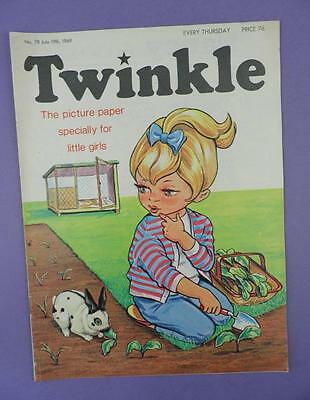 Twinkle Comic, Picture Paper For Little Girls #78, July 19th 1969