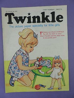 Twinkle Comic, Picture Paper For Little Girls #129, July 11th 1970