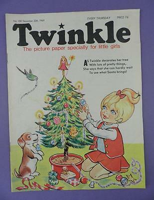 Twinkle Comic, Picture Paper For Little Girls #100, December 20th 1969