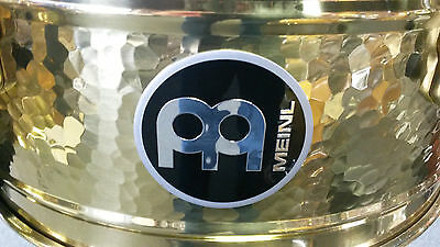 MEINL Artist Series Luis Conte Signature Timbales LC1BRASS-Store Demo
