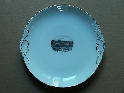"""camden Maine After The Fire, Nov 10, 1892"" Porcelain Souvenir Plate #2"