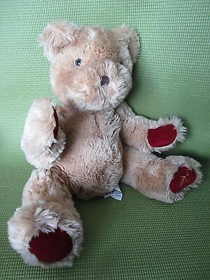 "La Senza 1998 retired teddy bear plush Strauss 13 "" puppet / lingerie holder"