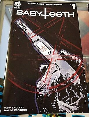 Babyteeth #1 Aftershock #1 Comic Book Covers A Nm Cates