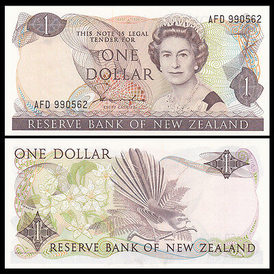 New Zealand 1 Dollar, ND(1981-85), P-169a, banknote UNC