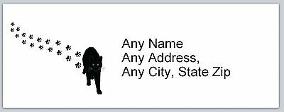Personalized Address Labels Cat Buy 3 get 1 free (ac629)