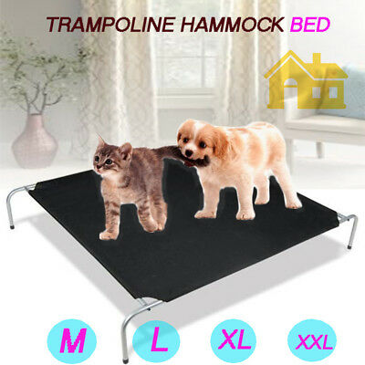 Pet Dog Cat Heavy Duty Frame Trampoline Hammock Bed/Replacement Cover M/L/XL/XXL